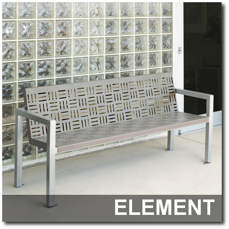 Groovy Archive Element Collection Contemporary Steel Benches Gmtry Best Dining Table And Chair Ideas Images Gmtryco