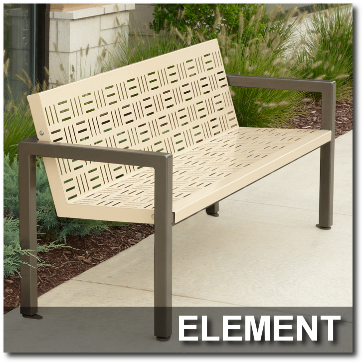 Element Collection Park Bench