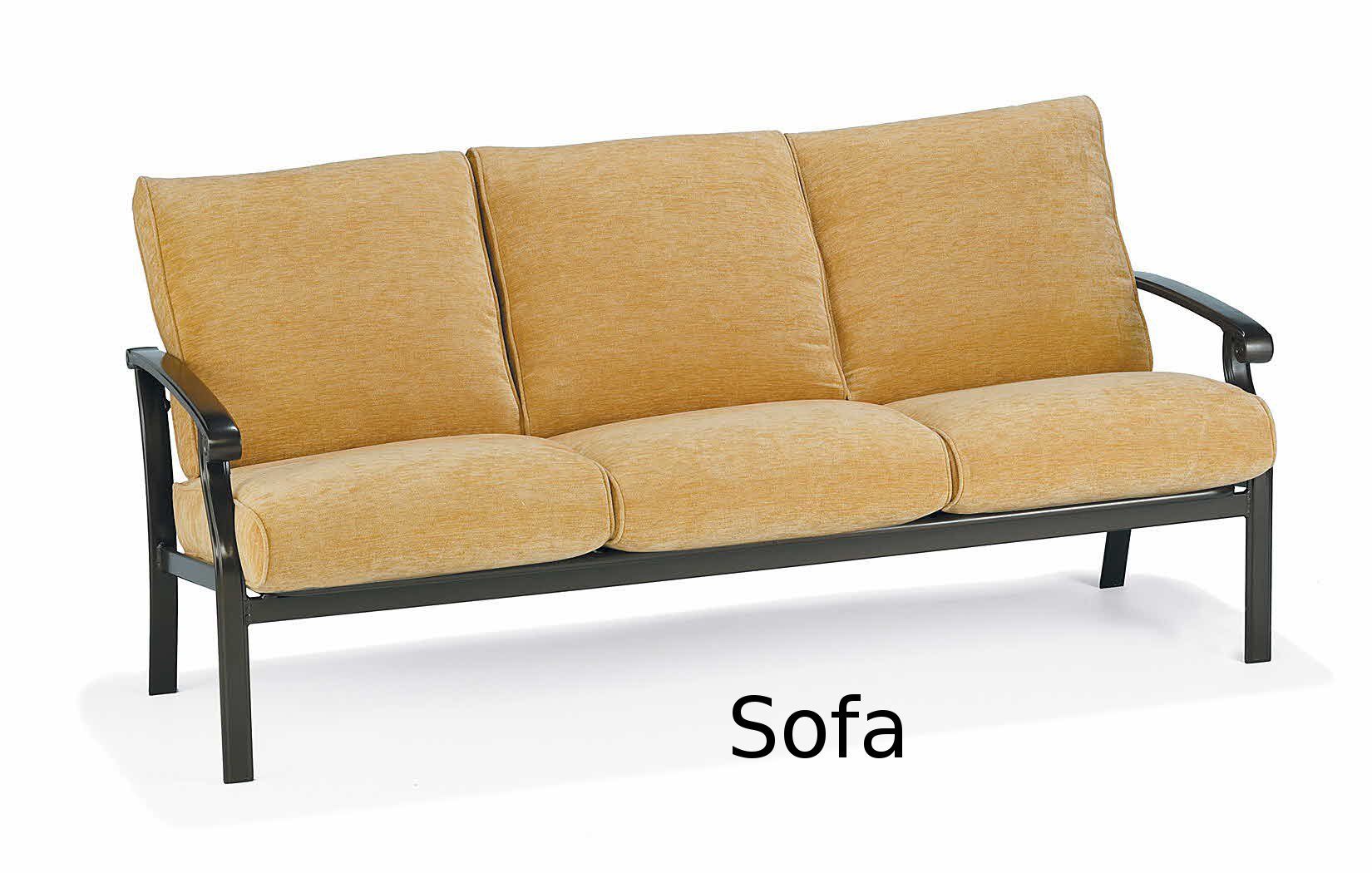 M26003  Madero Cushion Collection Sofa