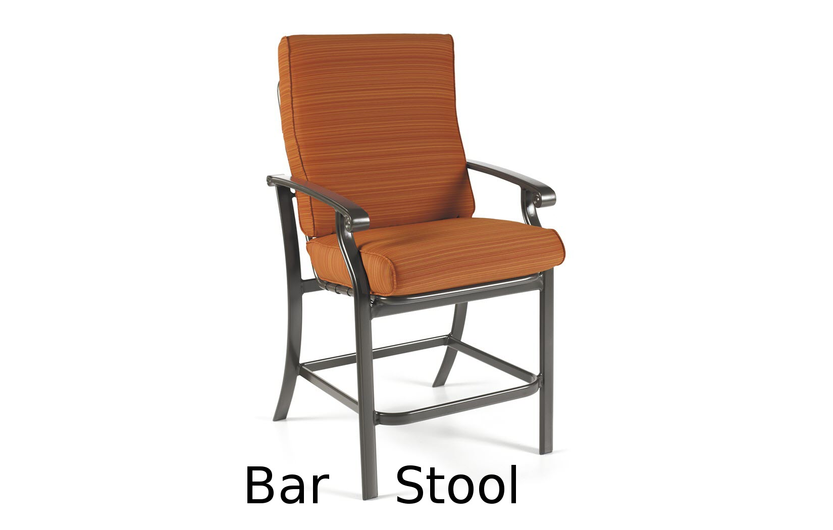 M26014  Madero Cushion Collection Bar Stool