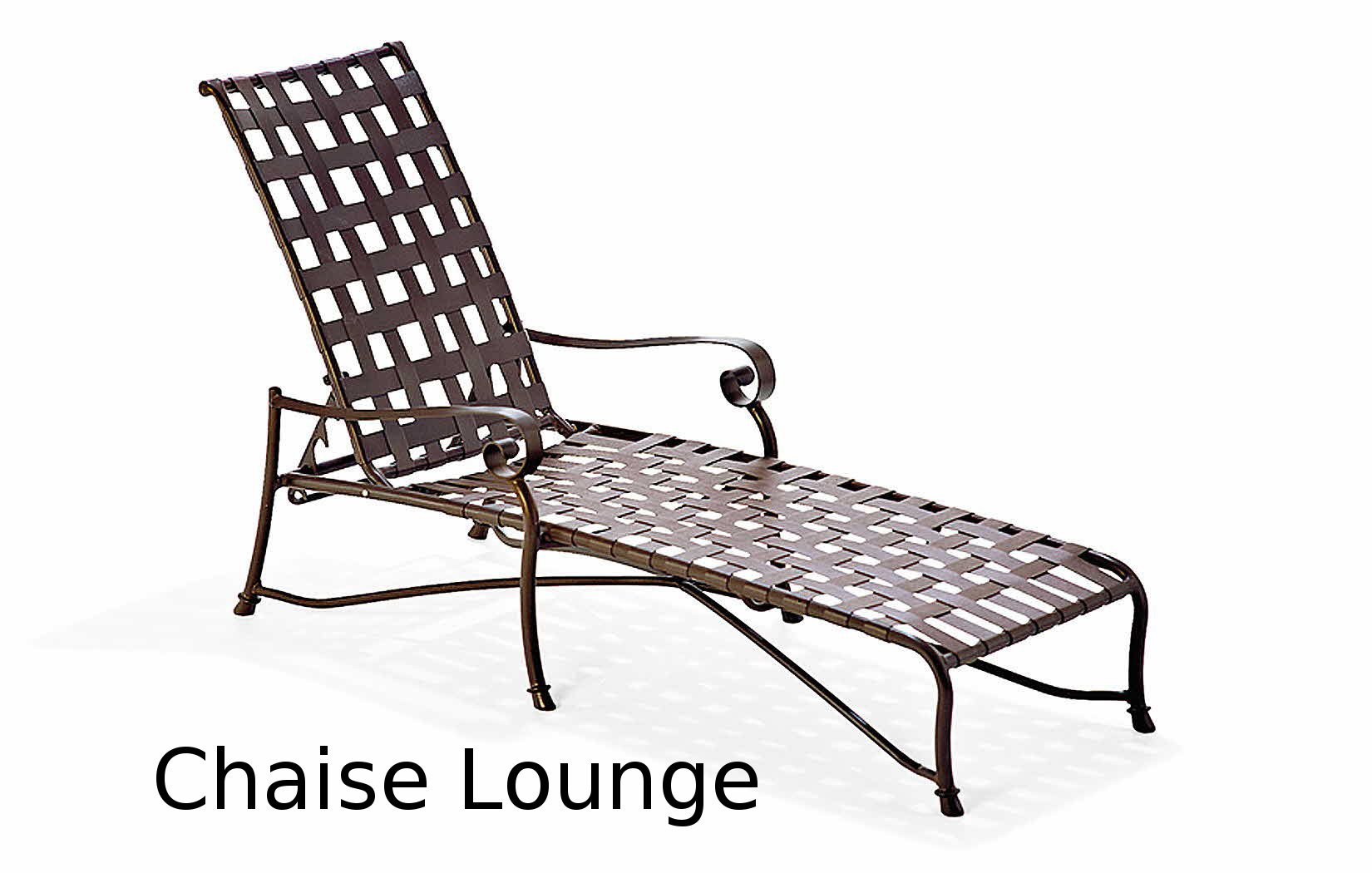 M310009  Vallero Crossweave Collection Chaise Lounge