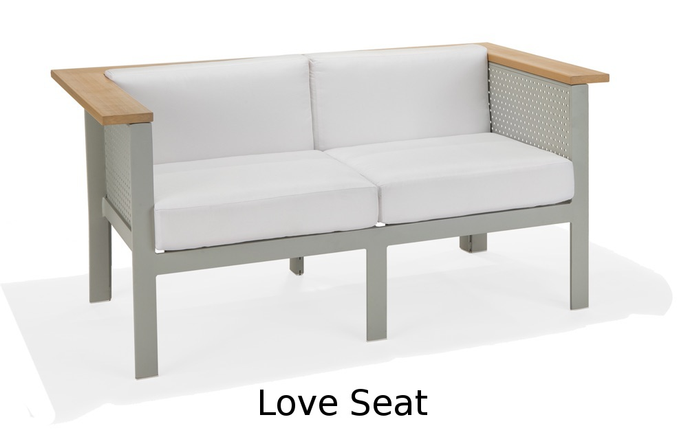 M32022  Vibe Modular Collection Love Seat