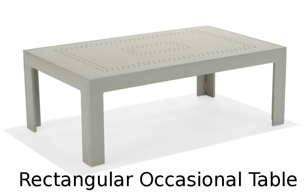 M32067  Vibe Modular Collection Rectangular Occasional Table