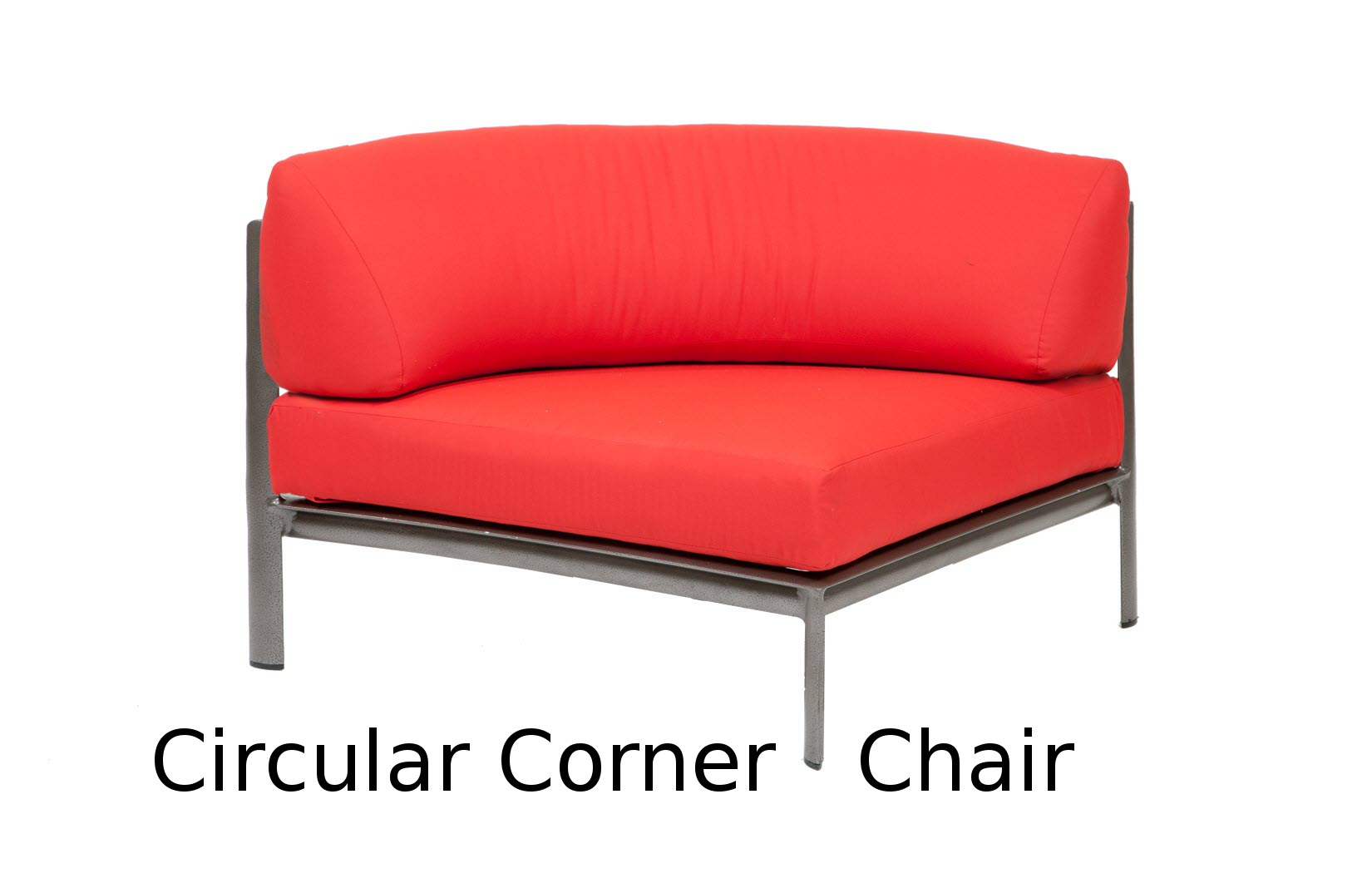 M35033  Southern Cay Modular Collection Circular Corner Chair