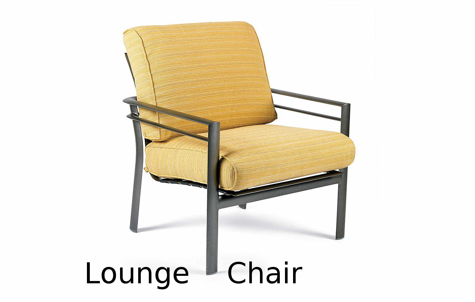 M36002  Southern Cay Cushion Collection Lounge Chair