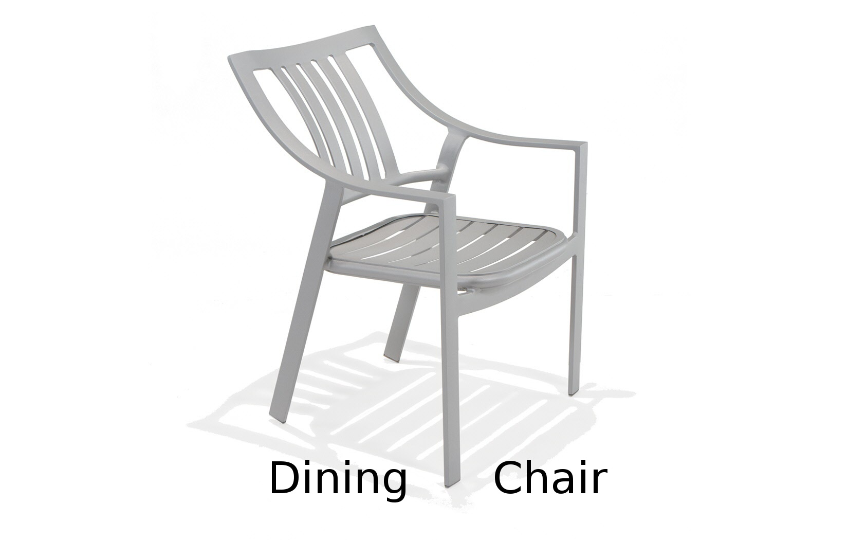 M5001A  Bistro Bellano Collection Nesting Dining Chair with Arms