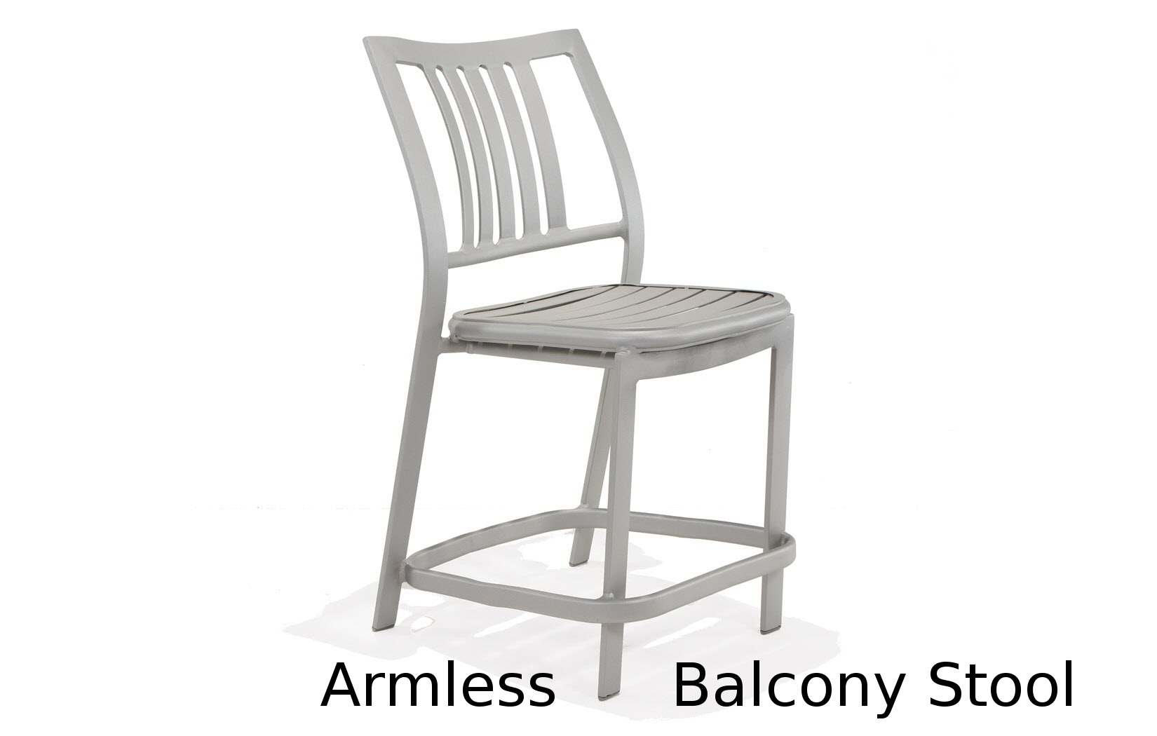 M5014B  Bistro Bellano Collection Armless Balcony Height Stool