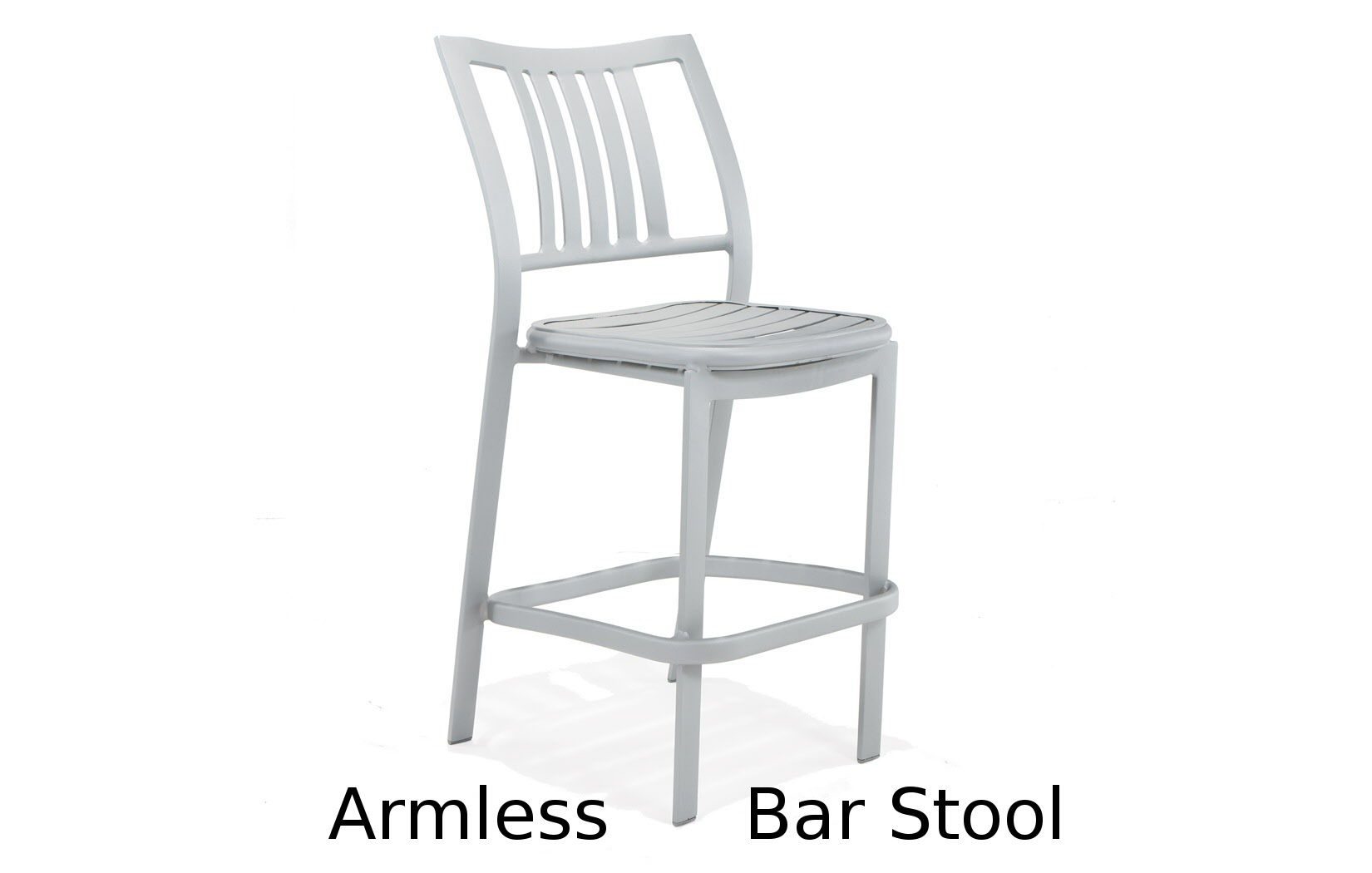 M5014  Bistro Bellano Collection Armless Bar Stool