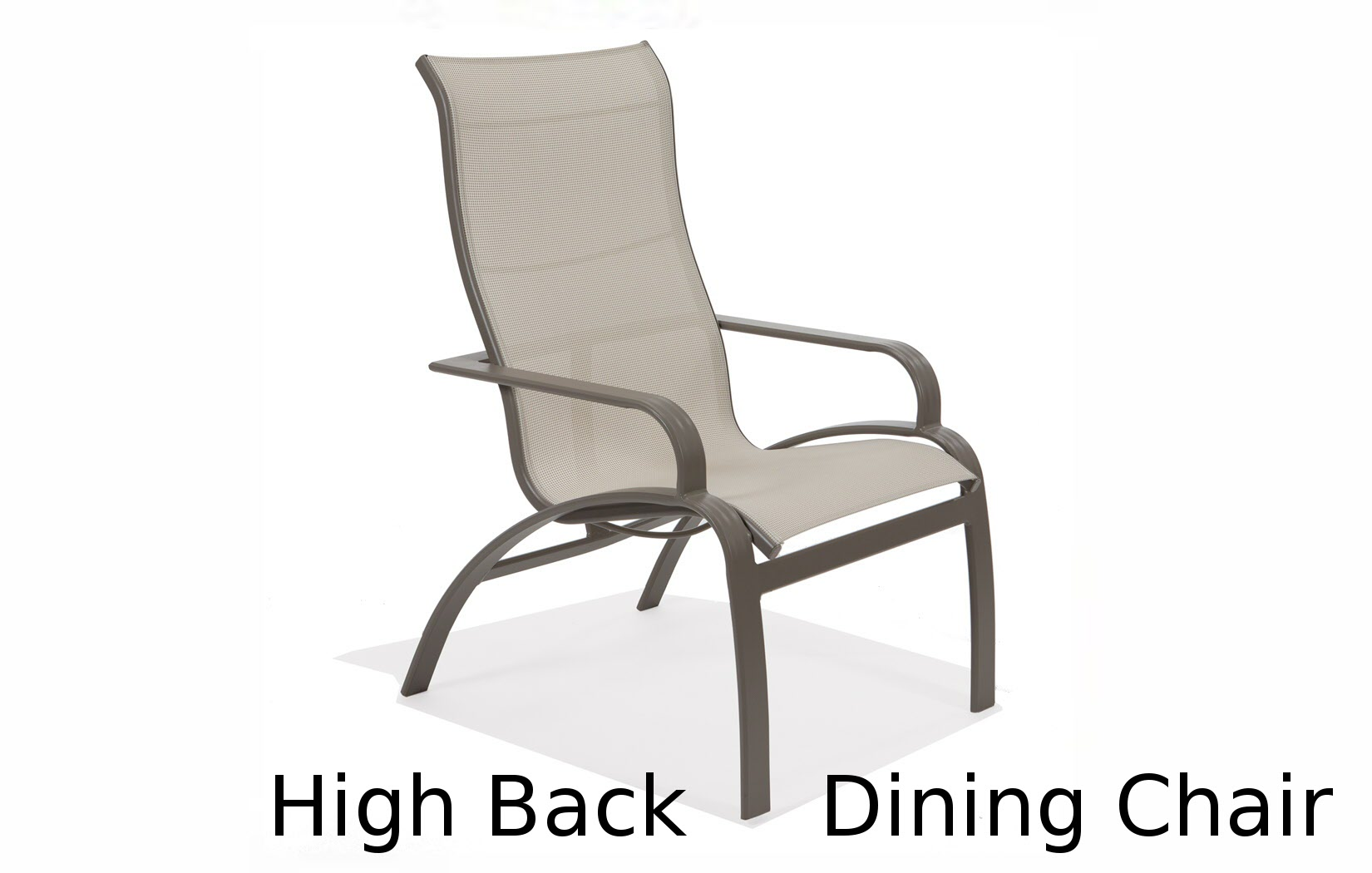M53041  Evolution Sling Collection Ultimate High Back Dining Chair