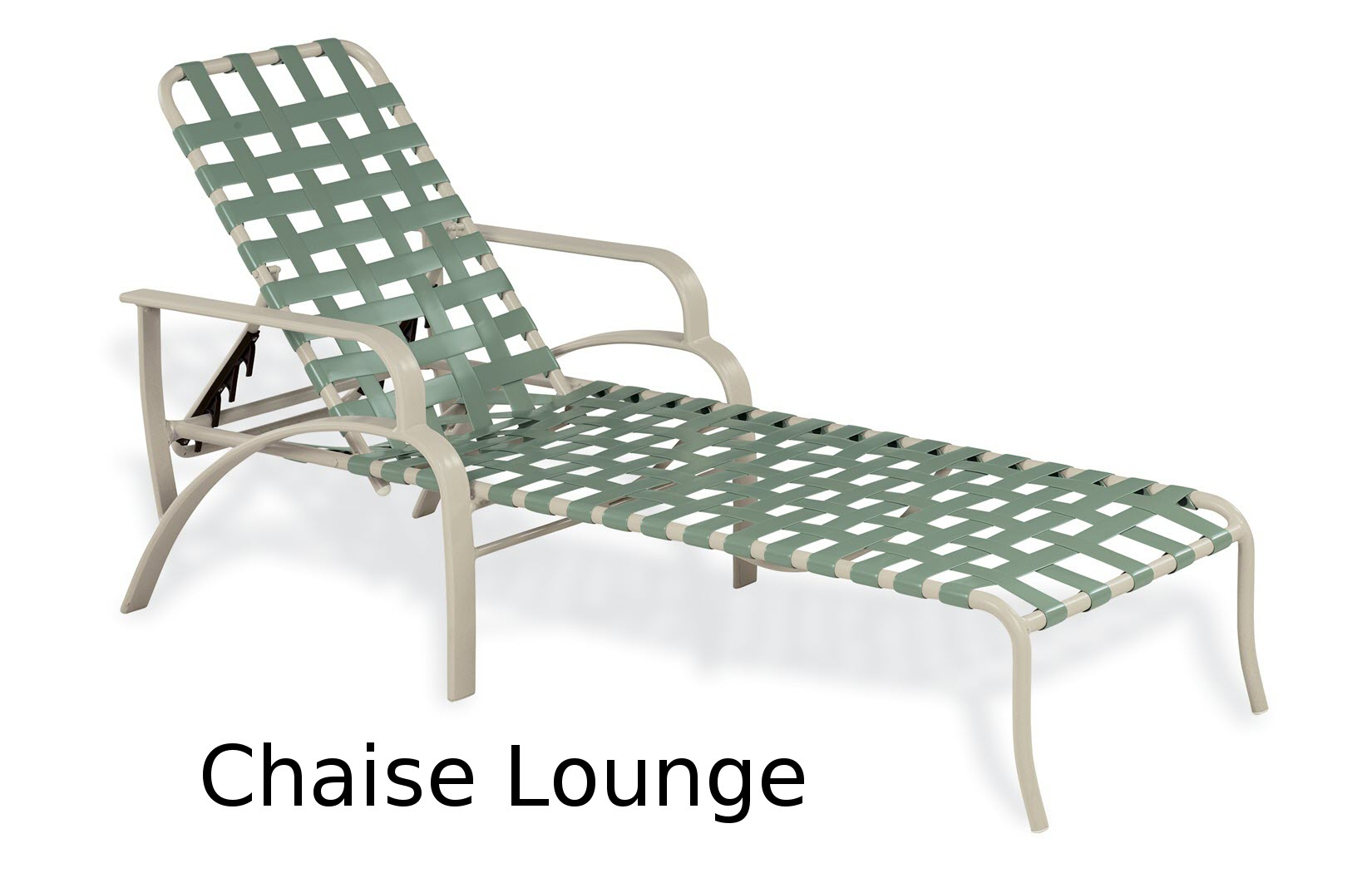 Evolution Crossweave Collection Chaise Lounge