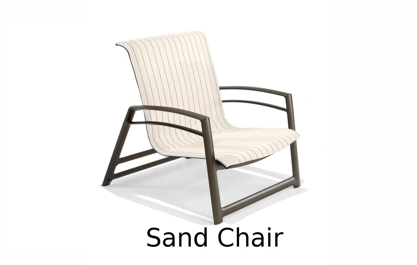 M6606R  Southern Cay Sling Collection Stacking Sand Chair