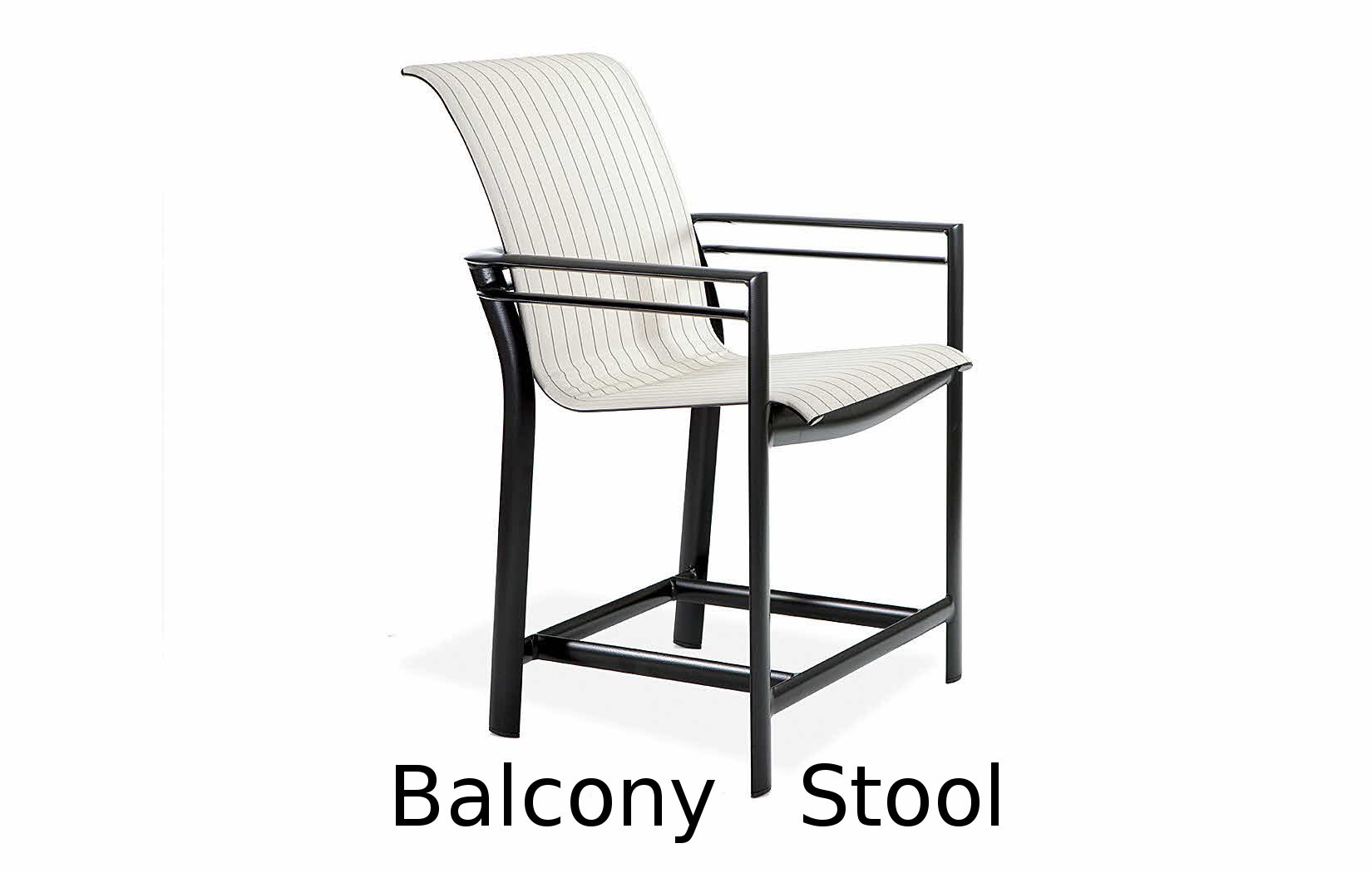 M66014B  Southern Cay Sling Collection Balcony Height Stool