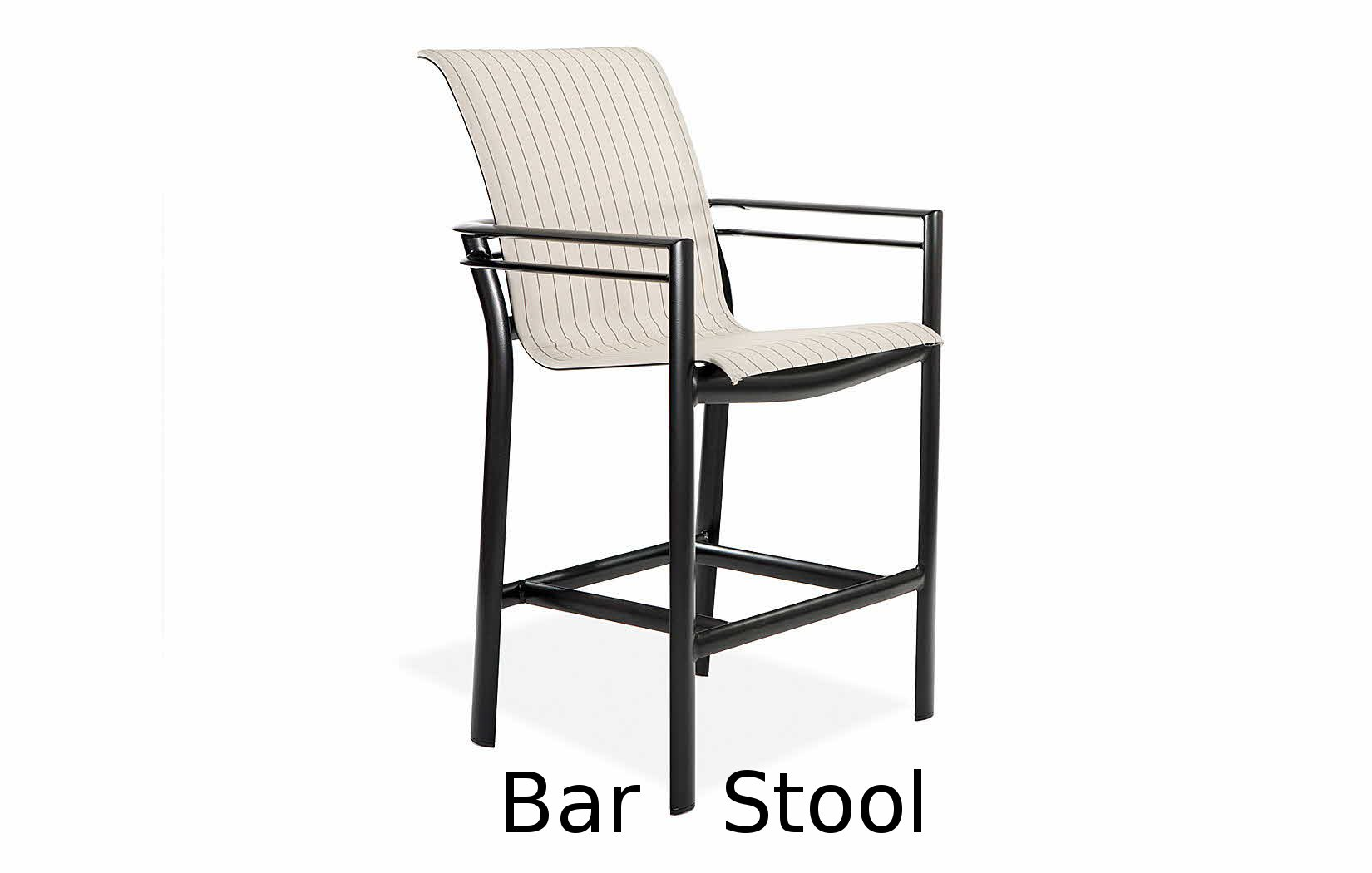 M66014  Southern Cay Sling Collection Bar Stool