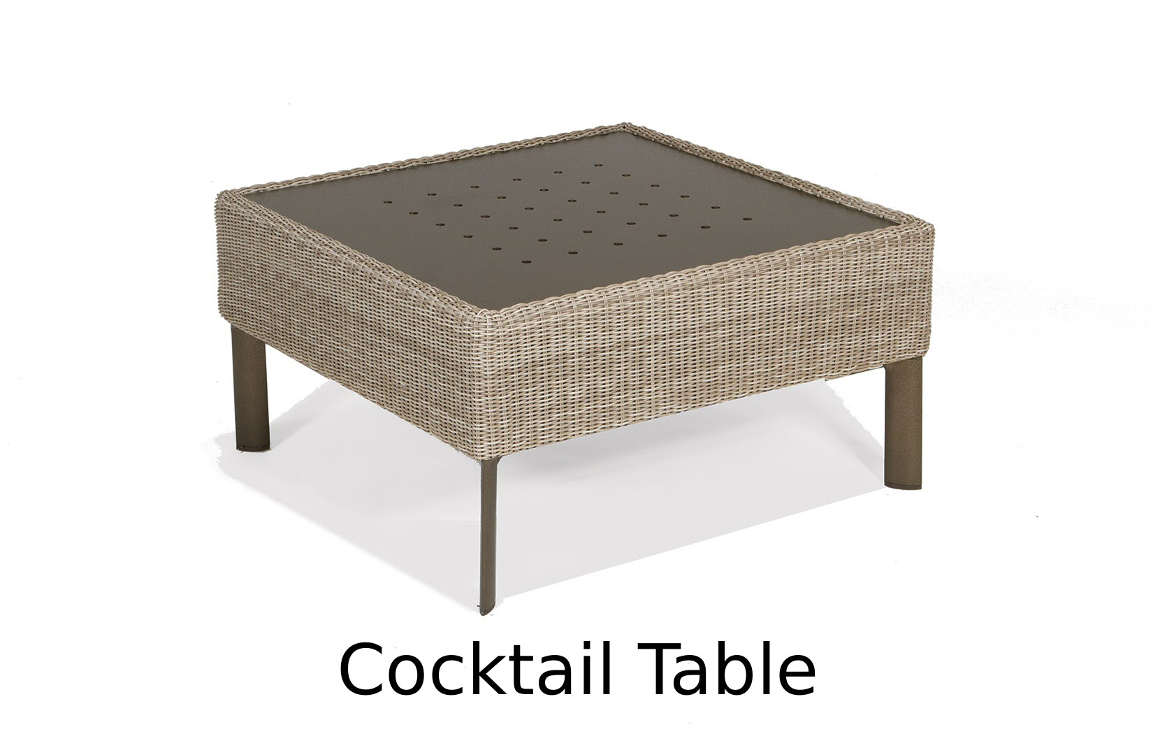 M74007C  Couer d'Alene Collection Cocktail Table