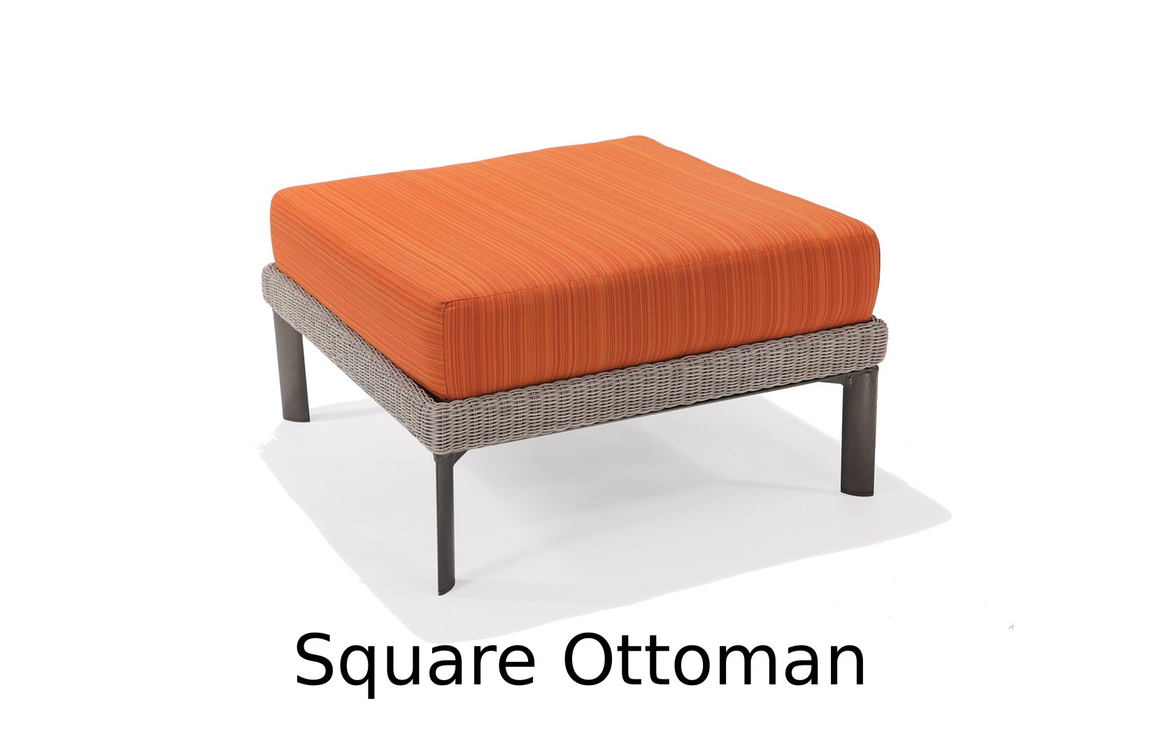 M74008C  Couer d'Alene Collection Square Ottoman