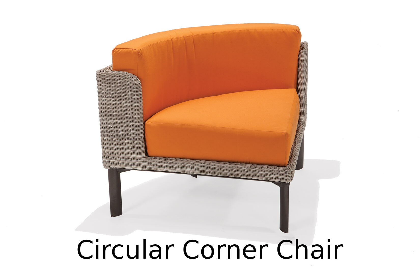 M74033C  Couer d'Alene Collection Circular Corner Chair