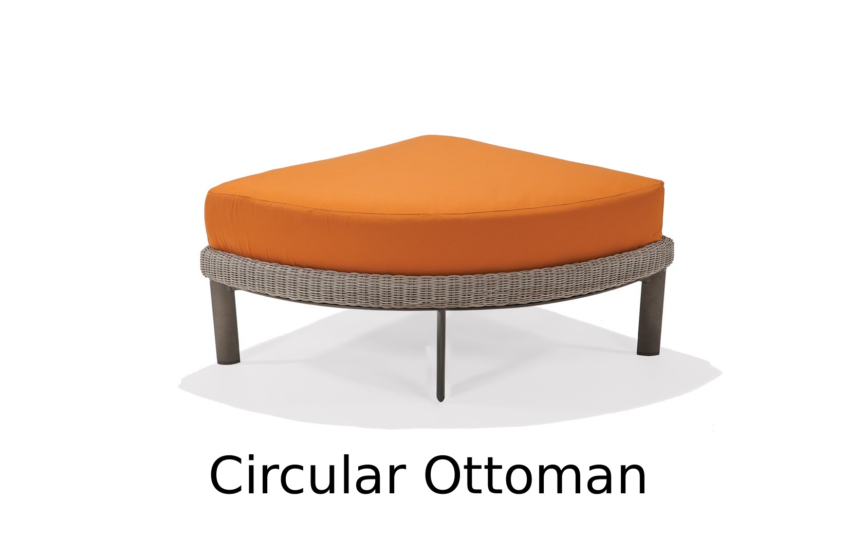 M74038C  Couer d'Alene Collection Circular Ottoman
