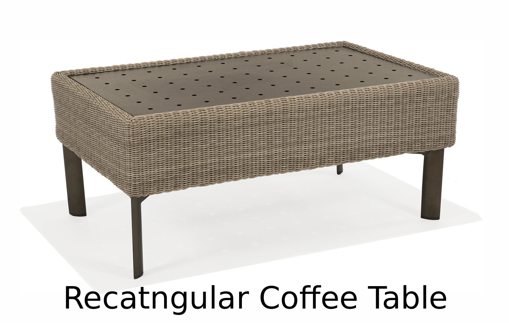M74067C  Couer d'Alene Collection Rectangular Coffee Table