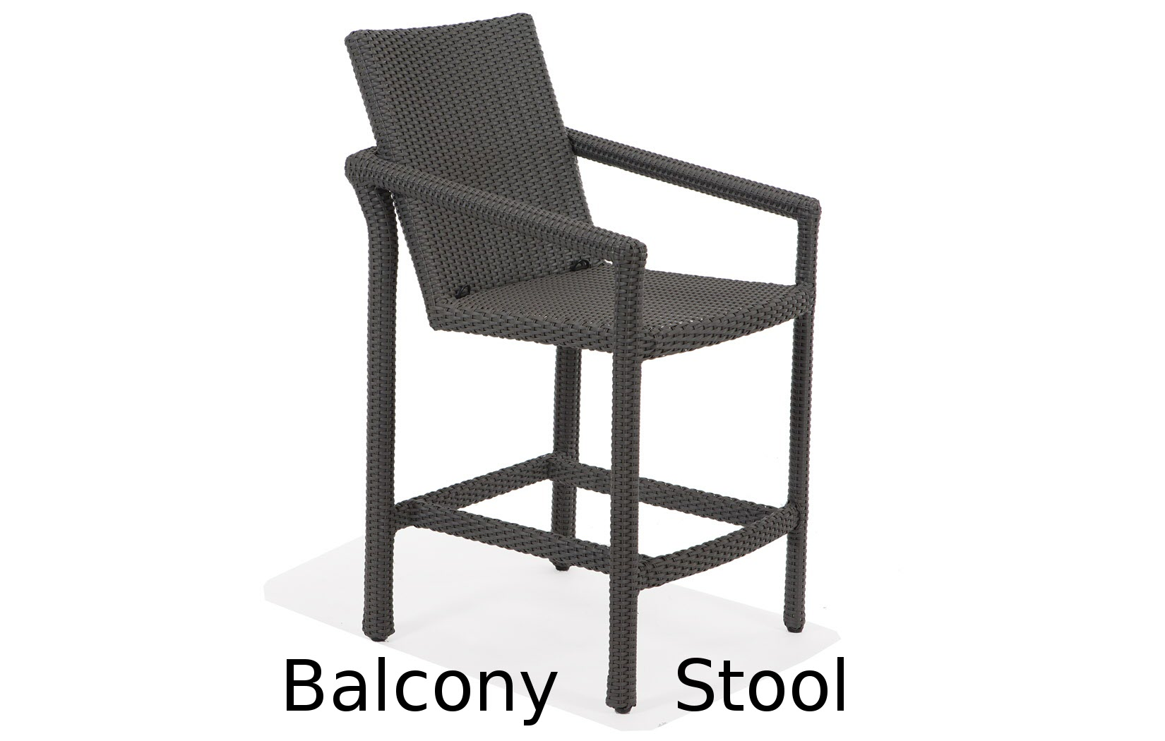 M75014B  Lantana Collection Balcony Stool