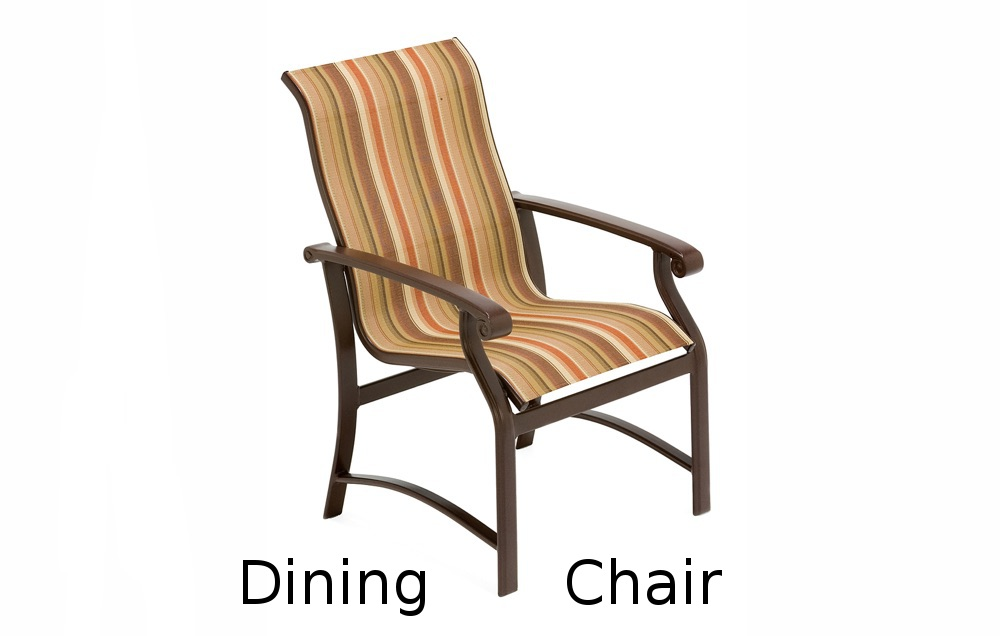 M7501R  Madero Sling Collection High Back Dining Chair