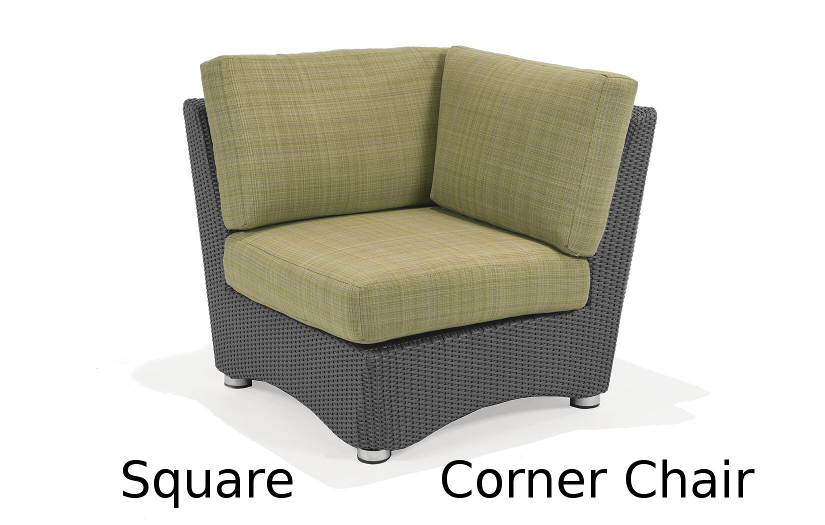 M75032  Lantana Collection Square Corner Chair