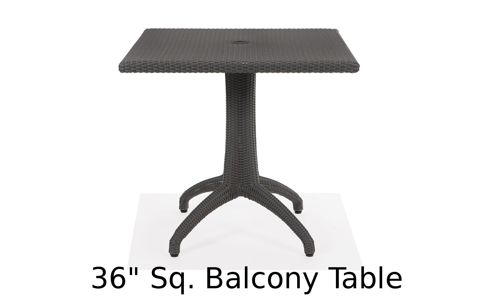 M75036BSQ  Lantana Collection Square Balcony Table