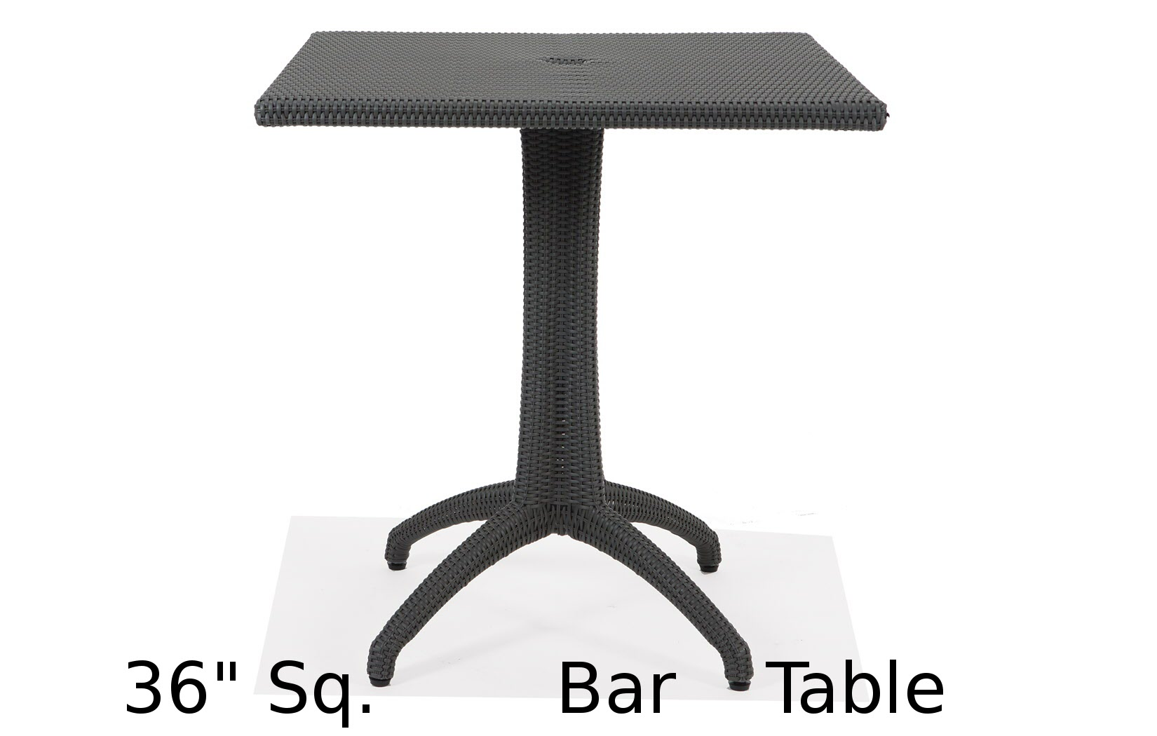 M75036HSQ  Lantana Collection Square Bar Height Table