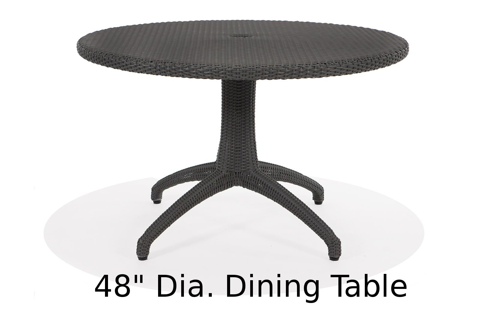 M75048RD  Lantana Collection Round Dining Table