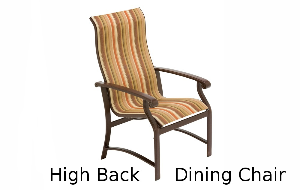 M7541  Madero Sling Collection Ultimate High Back Dining Chair