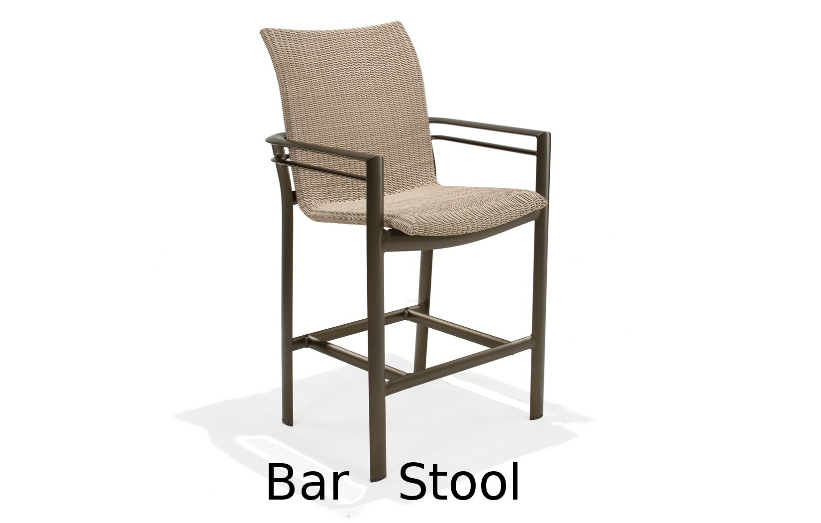 M76014  Southern Cay Woven Collection Bar Stool
