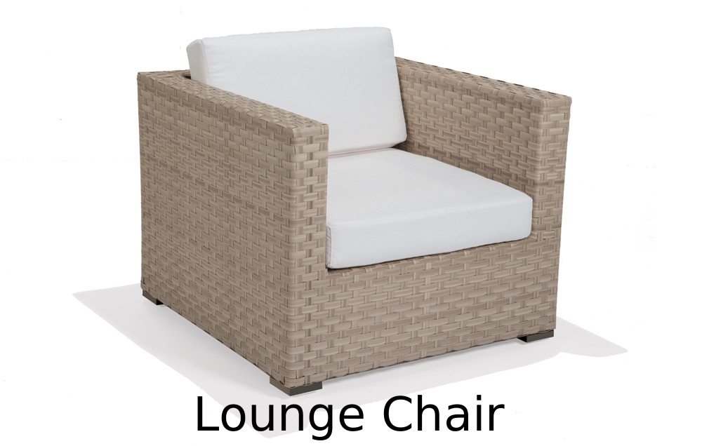 M77004  Nexus Collection Lounge Chair with Cushions