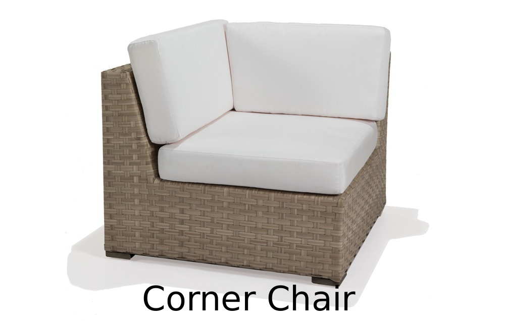 M77032  Nexus Collection Corner Chair with Cushions