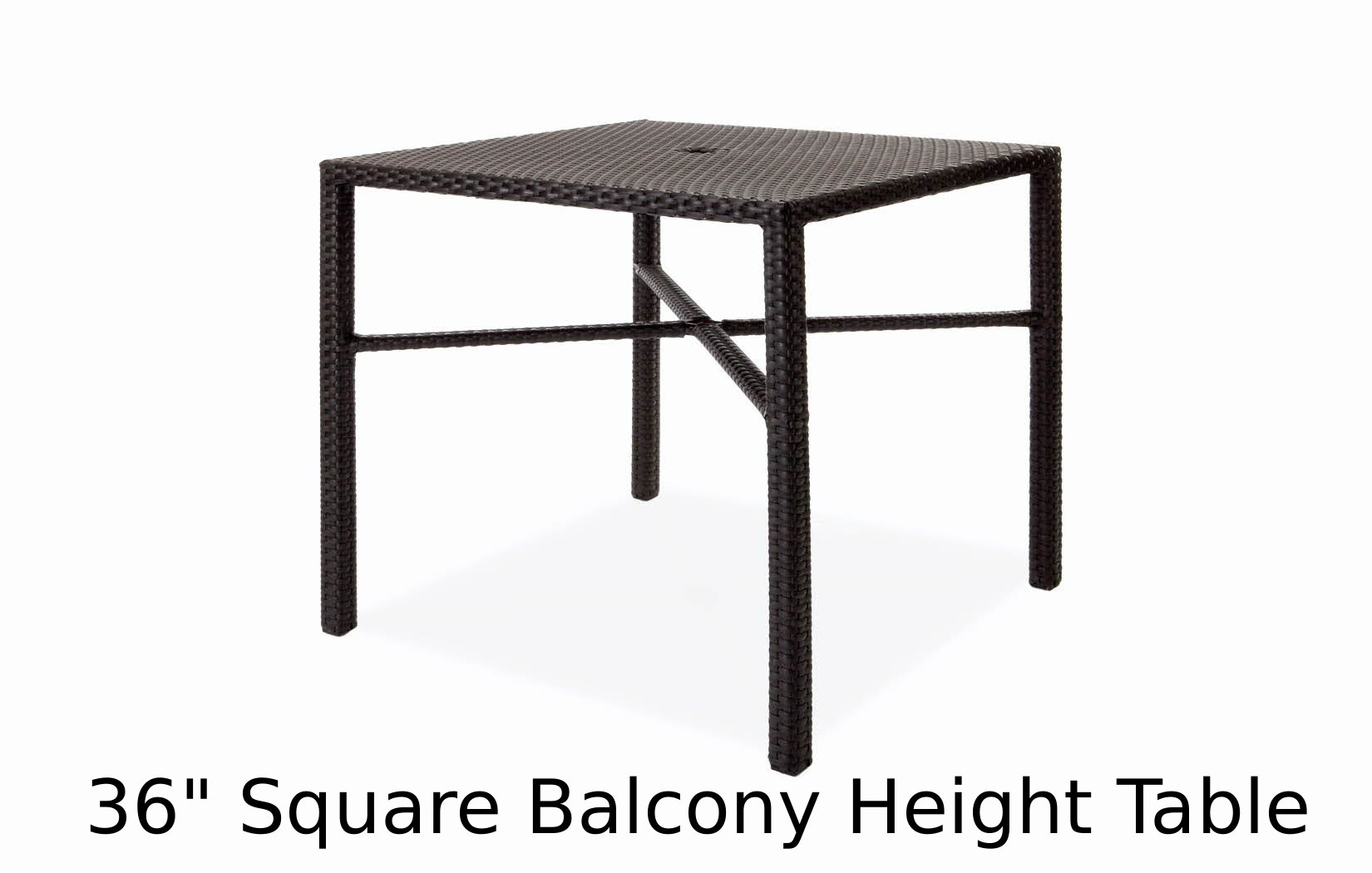 M77036BSQU  Nexus Collection Square Balcony Height Table
