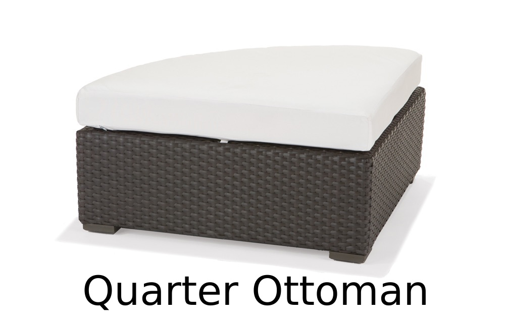 M77038  Nexus Collection Quarter Ottoman