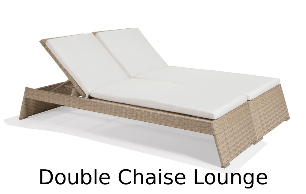 M77069  Nexus Collection Double Chaise Lounge