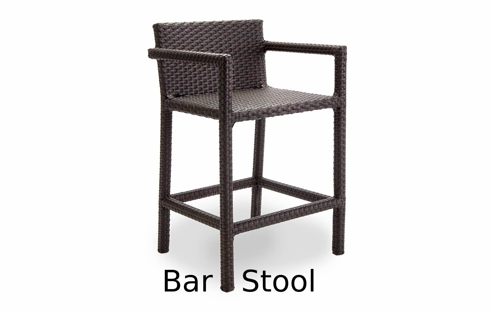 Nexus Collection Bar Stool with Arms