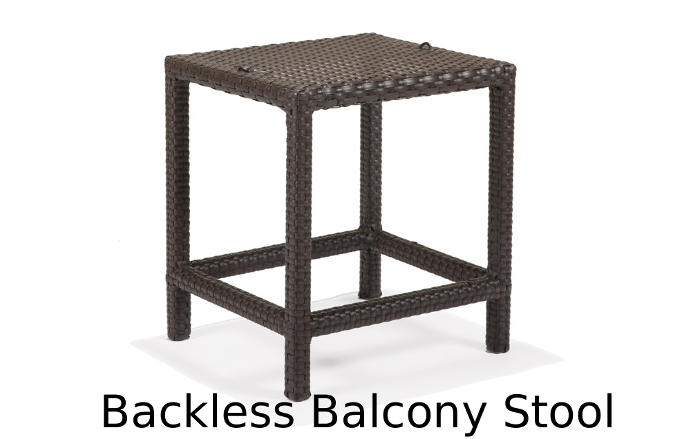 M77094B  Nexus Collection Backless Balcony Stool