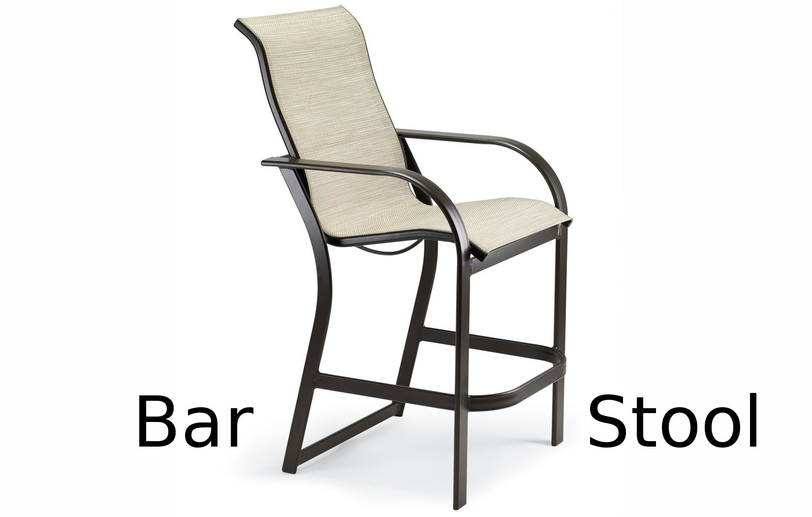 M8014  Keywest Sling Collection Bar Stool