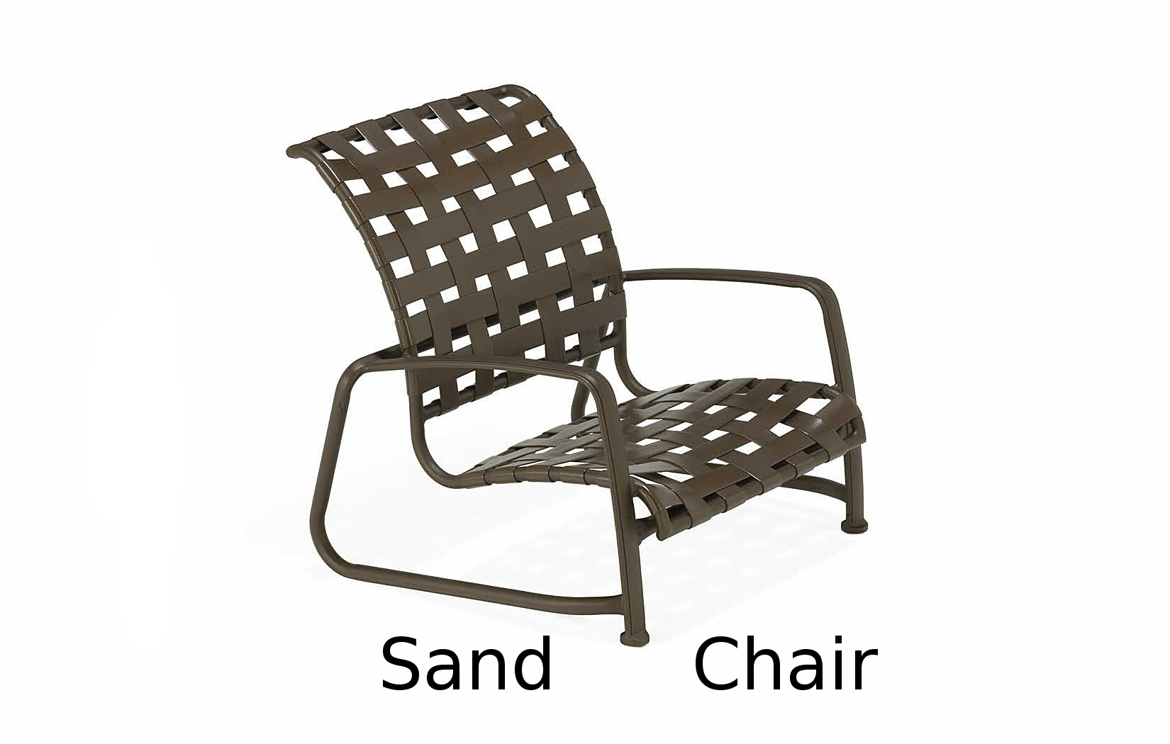 M93006  Vallero Crossweave Collection Stacking Sand Chair