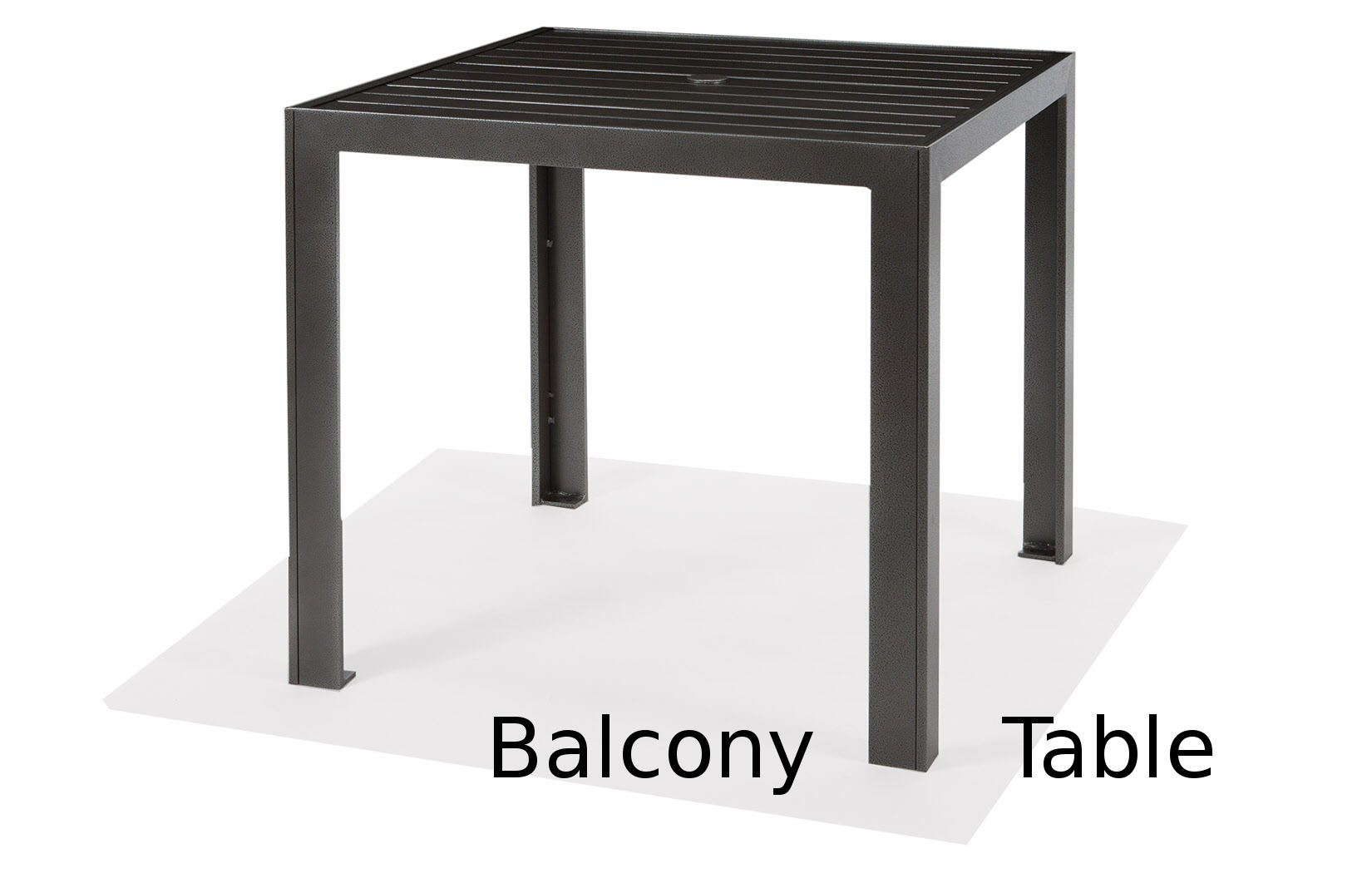 M9636-BST  Meza Collection 36 Inch Square Balcony Height Table