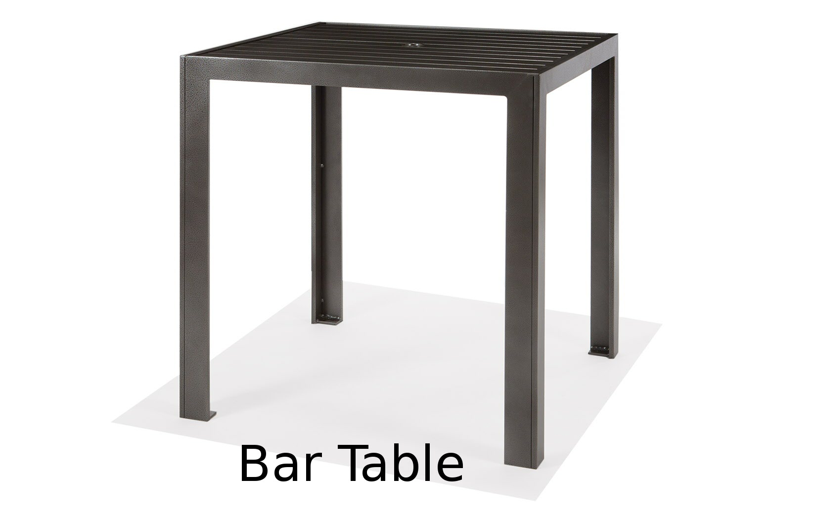 M9636-HST  Meza Collection 36 Inch Bar Height Table