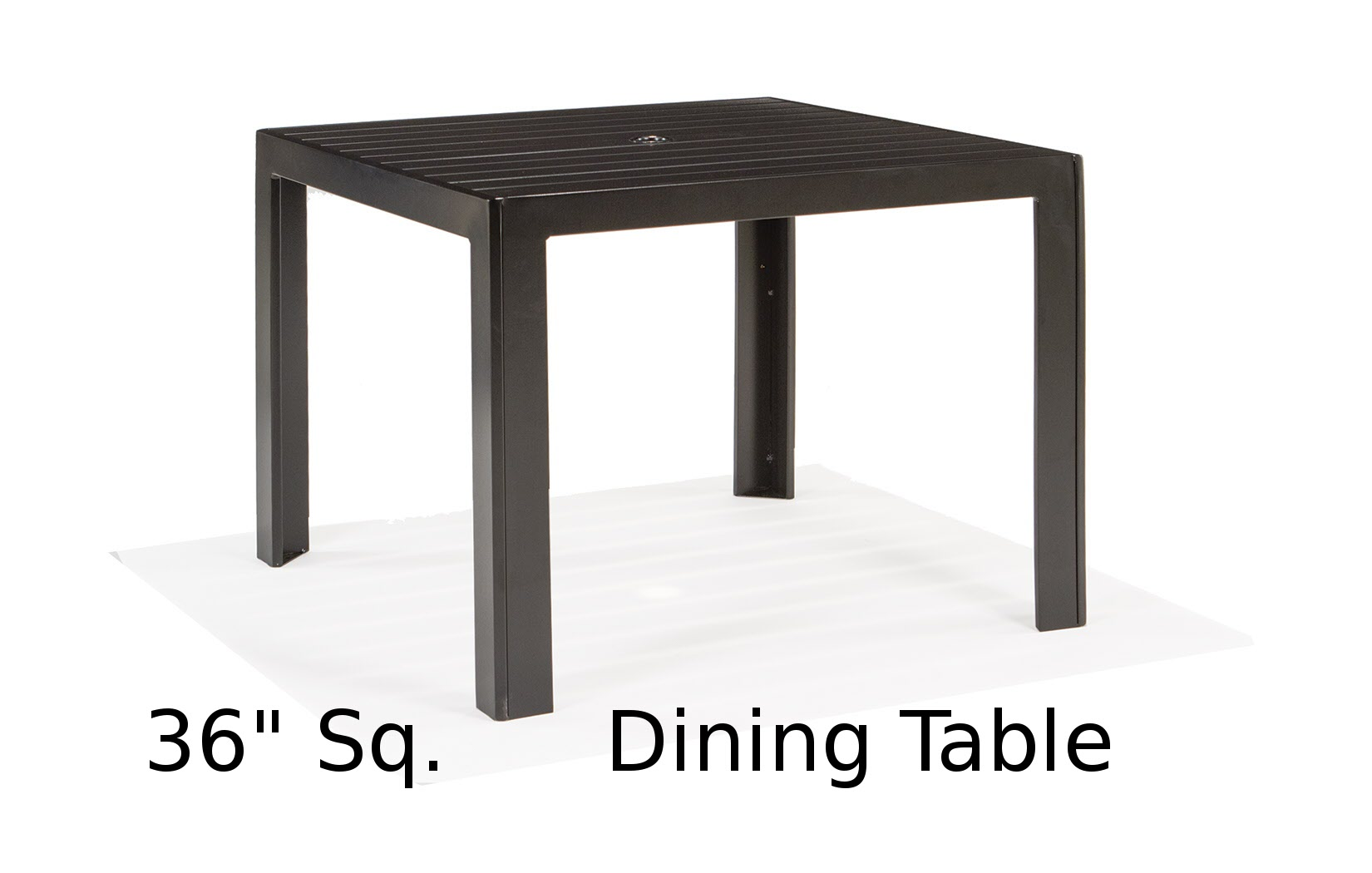 M9636-ST  Meza Collection 36 Inch Square Dining Table