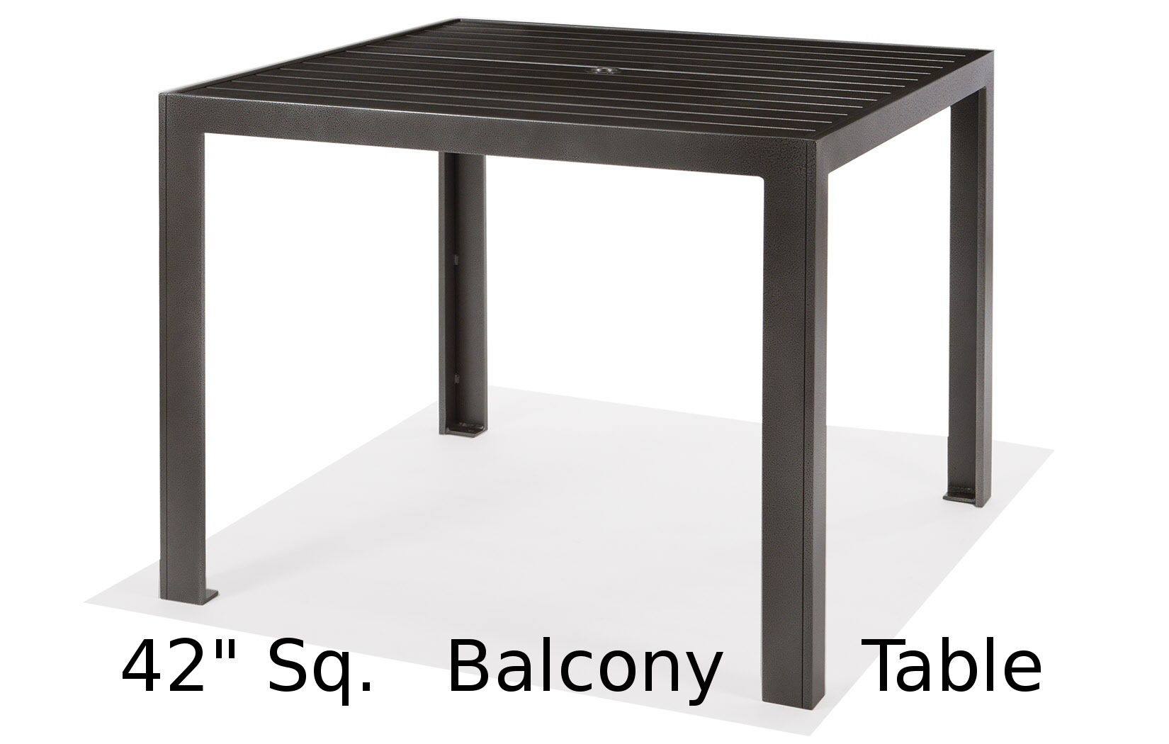 M9642-BST  Meza Collection 42 Inch Square Balcony Height Table