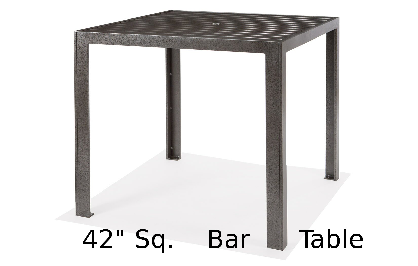M9642-HST  Meza Collection 42 Inch Square Bar Height Table