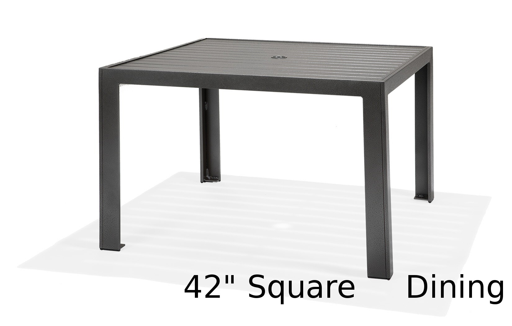 M9642-ST  Meza Collection 42 Inch Square Dining Table