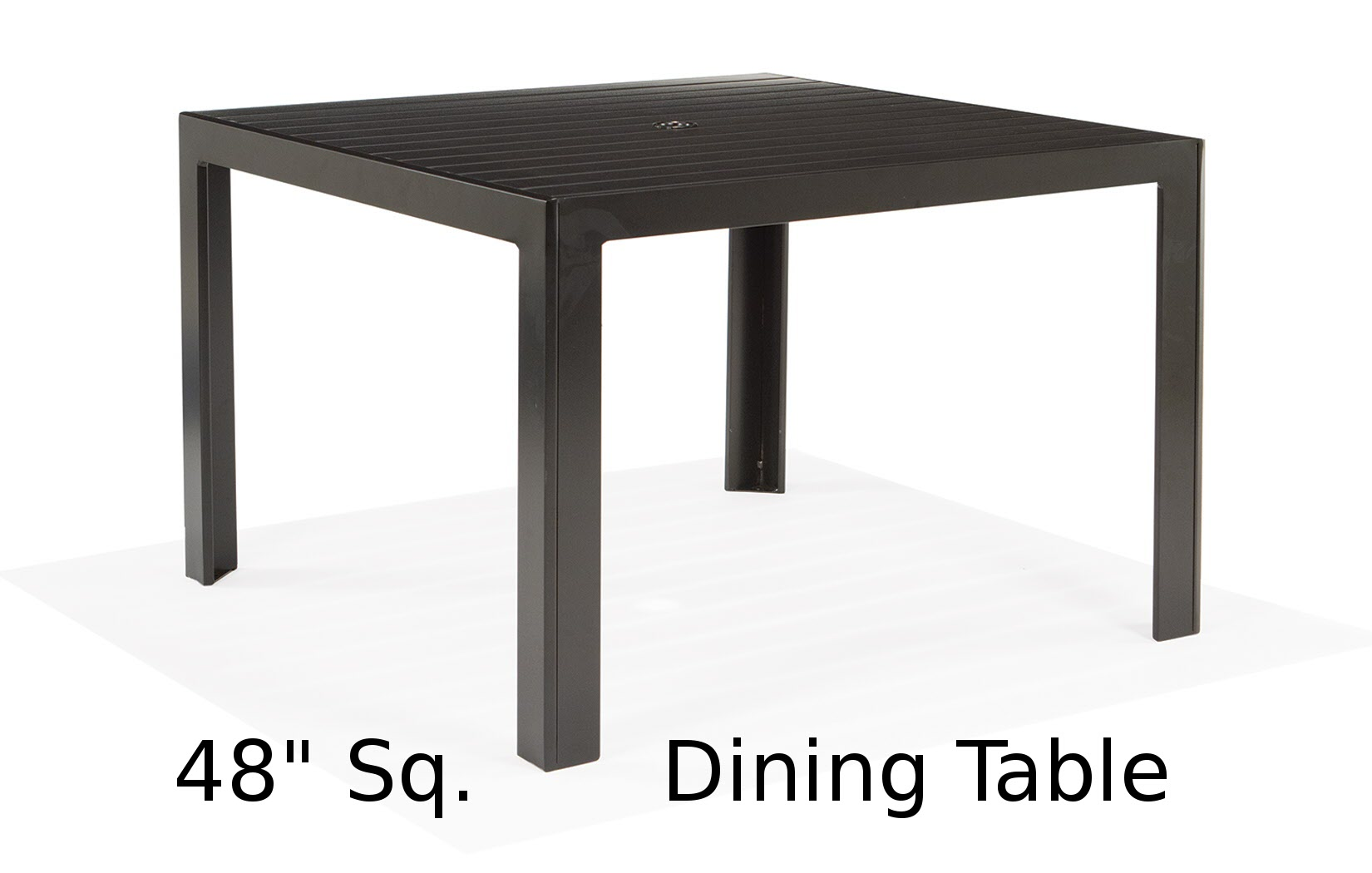 M9648-ST  Meza Collection 48 Inch Square Dining Table