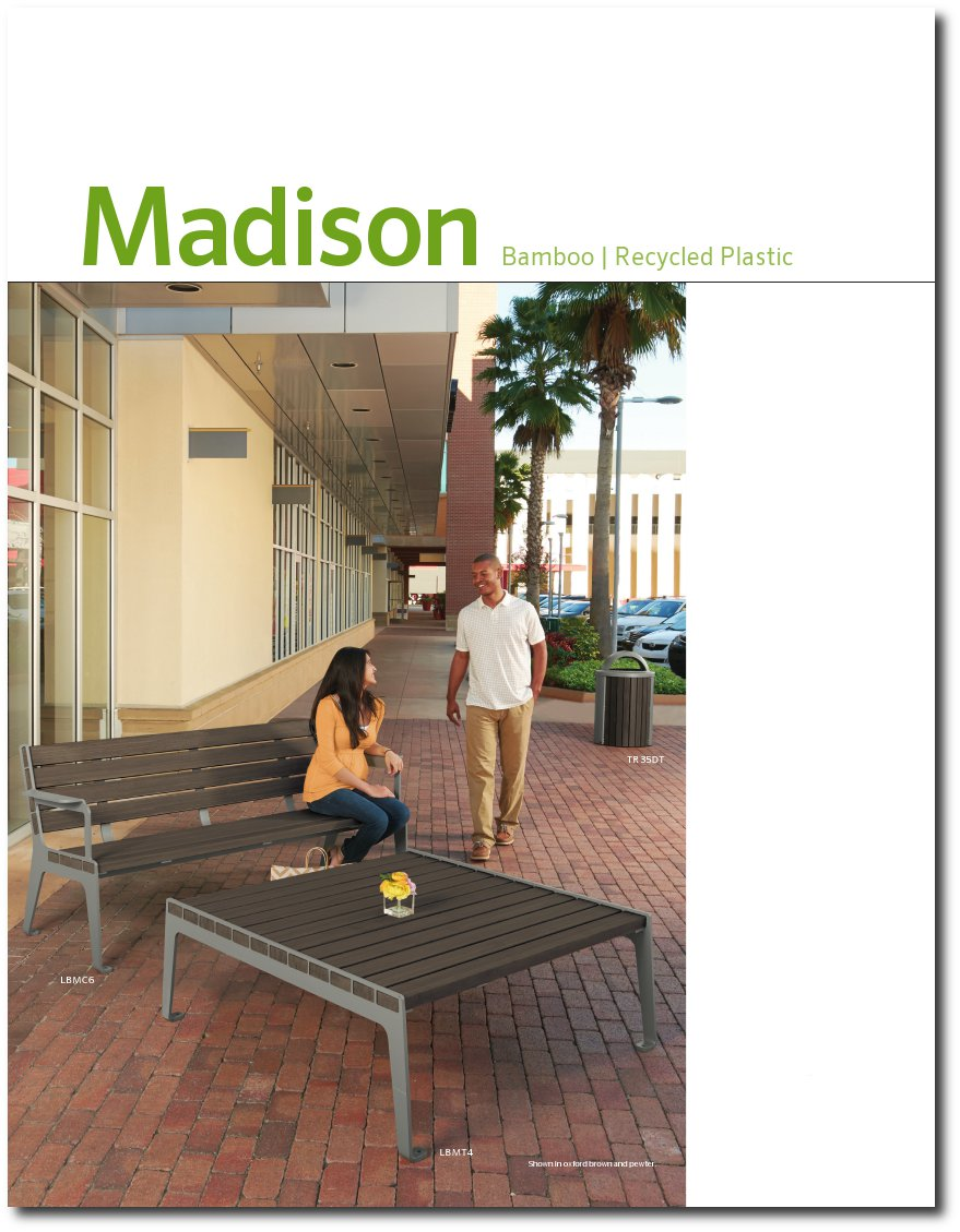 Madison Collection Brochure Cover