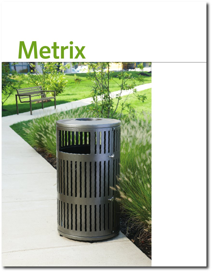 Metrix Collection Brochure Cover Page