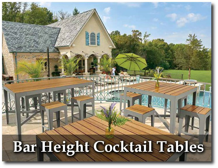 Mixx Collection Bar Height Cocktail Tables