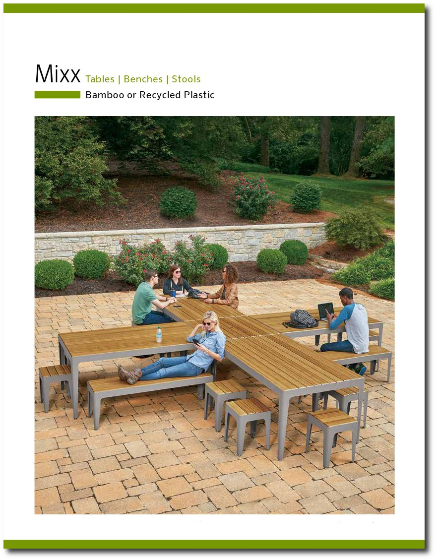 Mixx Collection Brochure Cover Page
